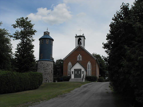 St John the Apostle Anglican Church and Higginson Tower