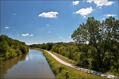 View from Lock 19 of the Hennepin Canal (Tom Gill.) Tags: canal illinois waterway hennepincanal wyanet