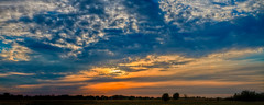 Sunset in Muskogee (Ian Aberle) Tags: panorama oklahoma pano roadtrip panoramic ok stitched hdr muskogee 2012 lightroom 3xp canonef28135mmf3556isusm photomatix tonemapped 2ev tthdr realistichdr detailsenhancer canoneos7d ianaberle