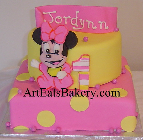 Minnie Mouse 1st Birthday Centerpieces Minnie Mouse Girl 39 s 1st
