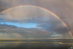 Rainbow (BraCom (Bram)) Tags: lake holland rain regenboog clouds coast rainbow meer nederland thenetherlands wolken explore regen ouddorp kust zuidholland goereeoverflakkee grevelingen bracom mygearandme
