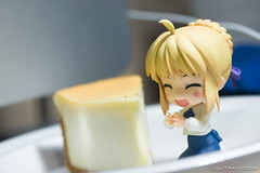 Saber Cheesecake (Ultimaknight.com) Tags: saber rssfeed typemoon fatestaynight fatehollowataraxia nendoroid fatezero fateunlimitedcodes ultimaknight
