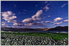 A night at Pangong Tso (~ rohit (Out For A While)) Tags: india lake night clouds ganda tso rohit ladakh pangong spangmik rohitganda ~rohit