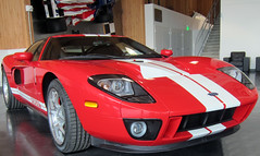2005 Ford GT (D70) Tags: 2005 usa ford car museum washington state tacoma gt americas v8 produced supercharged lemay 20052006 4038 54l 550hp