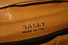 IMG_4705 (Threading Marigolds) Tags: vintage purse bally vintageclothing vintagepurse