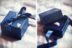 Viva del Carmine Maria [198/366] (Simonesta~) Tags: blue heart blu maria ring gift bow present ribbon jewels regalo jewel fiocco dono gioielli anello nastro gioiello richmore