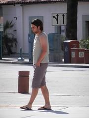 DSCN9294 (CAHairyBear) Tags: man men uomo flipflops mann hombre homme hom braghettoni