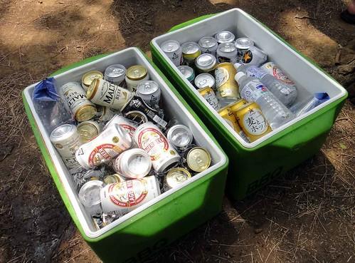 20120729お台場bbq〜ビール