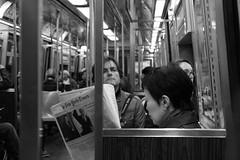 Subway (roosanaa) Tags: bw white newyork black subway metro nuevayork