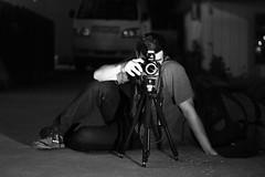 John (DustinScriven) Tags: bw white black night contrast canon lens rebel 50mm lights high flood time tripod ii usm t3 f18 t2i