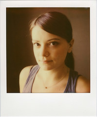 Susan (Ben Syverson) Tags: family chicago sx70 illinois impossible polaroidsx70 instantfilm testfilm susandwyer opacifier impossibleproject