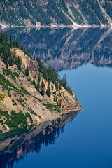 Crater lake (LisArt) Tags: oregon craterlake craterlakenationalpark craterlakeoregon craterlakenationalparkoregon reflectioncraterlake reflectioncraterlakenationalpark