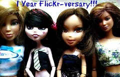 1 Year Flickr-Versary! (Caboose) Tags: 3 jenna me monster french for this 1 high flickr dolls all you d ninja anniversary toast year woo thank dustin liv barbies unicorn sparkly epic darcy poptart liking bratz ula versary website1