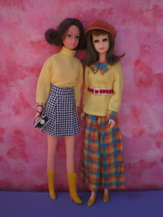 Francie loves clone fashions (puppi17) Tags: jcpenney clonefashion franciedoll quickcurlfrancie franciemattel