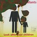 Look after your children 10x10 (two copies)