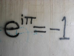 Who Knew? (mikecogh) Tags: graffiti numbers formula equation maths