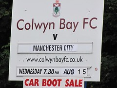 120815 PSF Colwyn Bay v Man City (5) (@putajumperon) Tags: manchestercityfc preseasonfriendly colwynbayfc groundhop1881