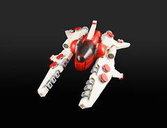 Amaranth Vv-01 (Titolian) Tags: fighter lego space future vic viper swoosh starfighter vicviper nnenn nnovvember