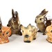 206. Collection of English Porcelain Animals