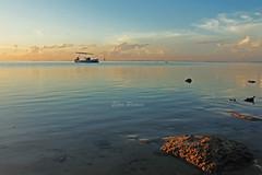Greet the Morning (Eka Purna Sumeika *PIC*) Tags: morning bali beach nature stone sunrise canon indonesia landscape eos 1740mm greet denpasar sanur 550d mertasari canoneos550d denpasarselatan