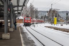 DB 143 055, Titisee (Dennis te D) Tags: deutschebahn titisee dosto nwagen 143055