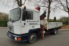 MAN 12.232 (Vehicle Tim) Tags: man truck crane f90 kran lkw laster m90 pritsche