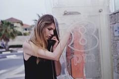 (thelitso) Tags: portrait woman girl 35mm israel call natural kodak portrayed