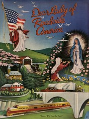 Dear Lady of Roadside America (Alan Mays) Tags: ephemera sheetmusic musicsheets songs sheets music covers religiousephemera paper printed dearladyofroadsideamerica ladyofroadsideamerica roadsideamerica bennethum leonabennethum composers women jesus jesuschrist ourladyoflourdes ourladyoflourdeschapel chapels churches trains roads highways bridges flags roadsideattractions touristattractions illustrations red blue green shartlesville reading pa berkscounty pennsylvania 1957 1950s antique old vintage typefaces type typography fonts