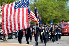 Memorial Day Parade (PFX Photo) Tags: ny austin mainstreet americanflag parade american memorialday kaylee geneseo livingstoncounty pfxphoto larryneuberger