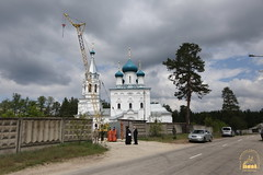 01. Paschal Prayer Service in Svyatogorsk / Пасхальный молебен в соборном храме г. Святогорска