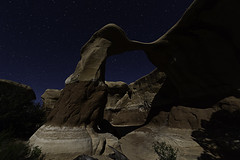 02469102-76-Devil's Garden Metate Arch at Night-1 (Jim There's things half in shadow and in light) Tags: nature night stars landscape utah arch desert may 2016 devilsplayground schn holeintherockroad raumhaft cannon5dmarkiii tamronsp1530mmf28divcusd
