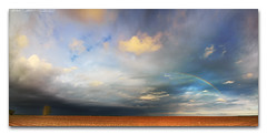 05/10/2016 - Typical spring storm and rainbow in Coles County, Illinois (Panorama) (StormLoverSwin93 | Into the Storm) Tags: light sky panorama storm color beautiful weather clouds canon dark landscape photography illinois spring rainbow darkness thunderstorm storms stormclouds atmosphericoptics circularpolarizer thunderstorms centralillinois weatherphotography 60d canon60d skypanorama canoneos60d illinoisthunderstorms eastcentralillinois rainbowpanorama stormandrainbow thunderstormpanorama