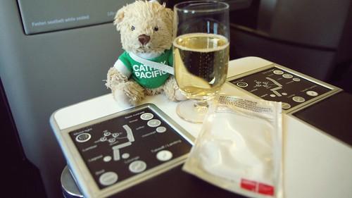 Onboard A330 Business Class - Swiss