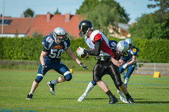 Steelsharks vs Corinthian Lions (karlhans) Tags: linz austria football american lions corinthian match traun haka steelsharks bildpunkt karlfluchphotography wwwf16pluscom