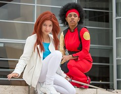 Misty Knight & Colleen Wing Cosplay (Trinity All-Stars) Tags: mistyknightcosplay mistyknight misty knight colleenwingcosplay colleenwing colleen wing cosplay costume daughtersofthedragon daughters dragon heroesforhire heroes hire fearlessdefenders fearless defenders trinityallstars