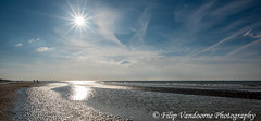 Some late sunny afternoon at the sea (filipmije) Tags: sea sky sun beach coast sand shore