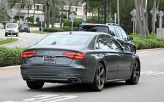 Audi S8 (D4) (RudeDude2140a) Tags: sports car sedan grey exotic audi d4 s8