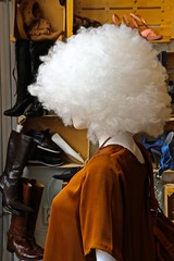 Fuzzy Hair (hrunge) Tags: portrait netherlands fashion candid wig portret mode pruik monnickendam fuzzyhair silkblouse warhoofd canoneos6d lensef28135mmf3556isusm may2016 hrunge