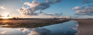 Sandymount Strand Sunset