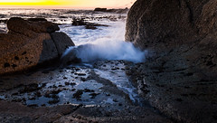 saunders pool sunset17 (WITHIN the FRAME Photography(4 Million views tha) Tags: longexposure light sunset seascape detail nature rocks surf shadows capetown boulders splash eos6d 1635mmlens
