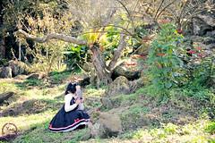 SDF_1079 (SendoFu) Tags: bonnet ボンネット エプロン風スカート blouse bl ブラウス headbow kc カチューシャ bnt 蕾絲 維多利亞 jsk op onepiecedress ワンピース jumperskirt ジャンパースカート nop lolita lolitafashion 蘿莉塔 蘿莉塔時裝 ロリータ・ファッション sweetlolita classicallolita