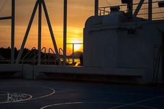 Sunset on the Ship-Jlombard (joshualombard) Tags: sunset water basketball port croatia cruiseship hr dubrovnik oldcity dubrovakoneretvanskaupanija dubrovakoneretvanskaupanij