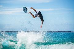 Big Beach Skimmers, Jun 27, 2016 (brandon.vincent) Tags: ocean park beach sports water hawaii big surf break state pacific board south extreme maui southern shore swell skimmer skim makena