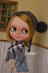 Oli (ronmielshop) Tags: hat gnome doll pixie clothes fairy blythe pon helment pompon ronmiel ronmielshop