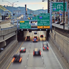 Rush Hour (FourOneTwo Photography) Tags: city longexposure urban pittsburgh traffic rushhour 412 urbanexplorer fouronetwophotography