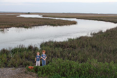 Out in the Marsh land between St. Helena Island and Hunting Island South Carolina (FAIRFIELDFAMILY) Tags: ocean old family trees gay boy sky jason man flower tree beach sc nature water grass sign st vintage river carson children bread island tin living store moss oak bush natural brothers antique live grant south low country salt young michelle southern azelea spanish coastal taylor carolina seafood myrtle marsh helena oaks beaufort sunbeam lowcountry ridgeland batesburg