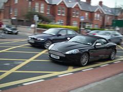 Aston martin DB9 Volante panning! (arthur doyle photography) Tags: ireland dublin car convertible finepix fujifilm gt supercar astonmartin sportscar britishsportscar carspotting hs10 grandtourer astonmartindb9volante worldcars