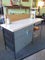 Vintage Metal Desk Not Available (Mod Livin') Tags: modern vintage design furniture danish eames midcenturymodern midcentury teak madmen heywoodwakefield selig risom midmod johnkeal