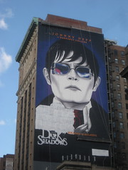 Barnabas Collins / Johnny Depp Dark Shadows 2012 Billboard 23rd St NYC 2263 (Brechtbug) Tags: from park street new york city nyc shadow film dan halloween television fashion monster by vintage dark movie poster toy toys 1971 tv soap scary 60s opera shadows action jonathan vampire gothic 1966 dracula billboard created masks figure johnny horror terror 70s cape undead monsters 1970 fangs depp avenue creature collins vampires 23rd barnabas episode curtis serial fright 2012 frid vampyr 1960 standee collinsport 04122012