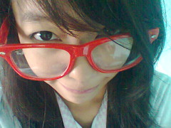 Rayban Glasses (Jhanna Khim Calad) Tags: red nerd glasses site big model how rayban icarly